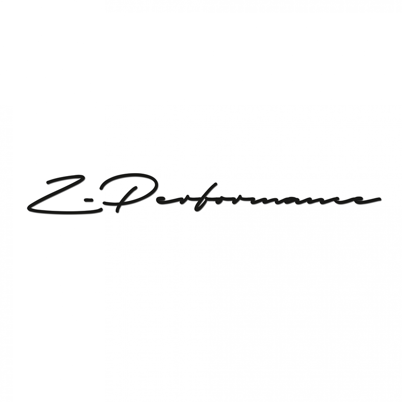 Z-Performance Signature Sticker| 25 cm | White