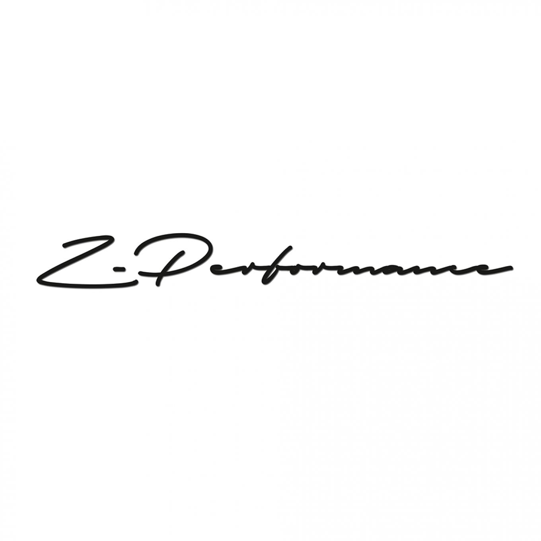 Z Performance Signature Sticker 55 Cm Weiss