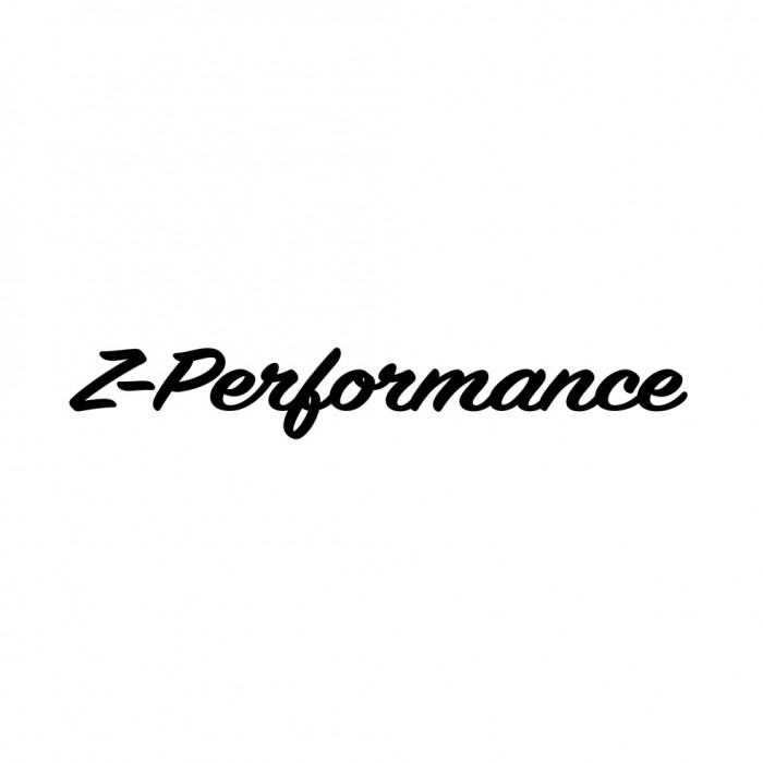 Z-Performance Cursive Sticker | 55 cm | White