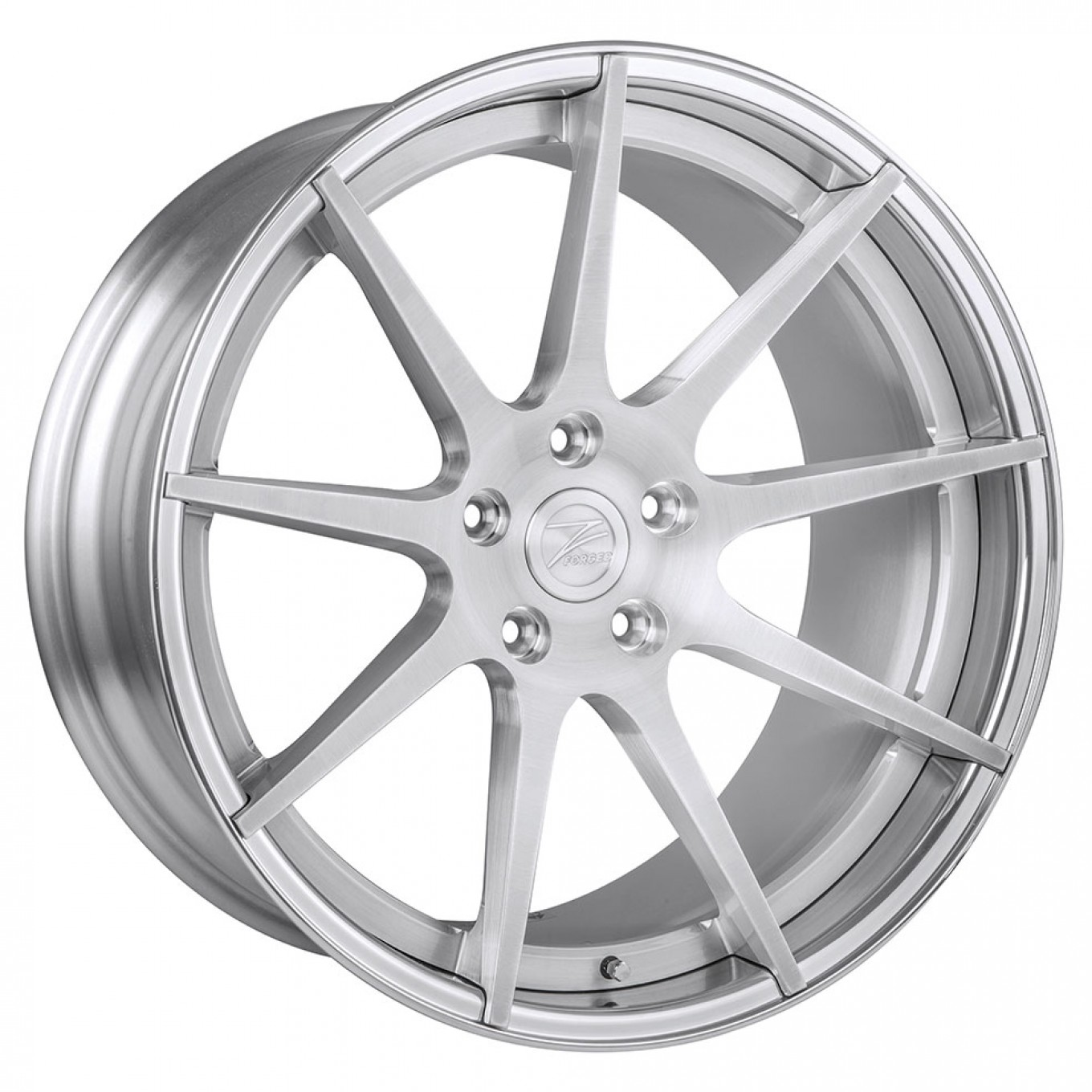ZP.FORGED 8 Super Deep Concave | Brushed Silver