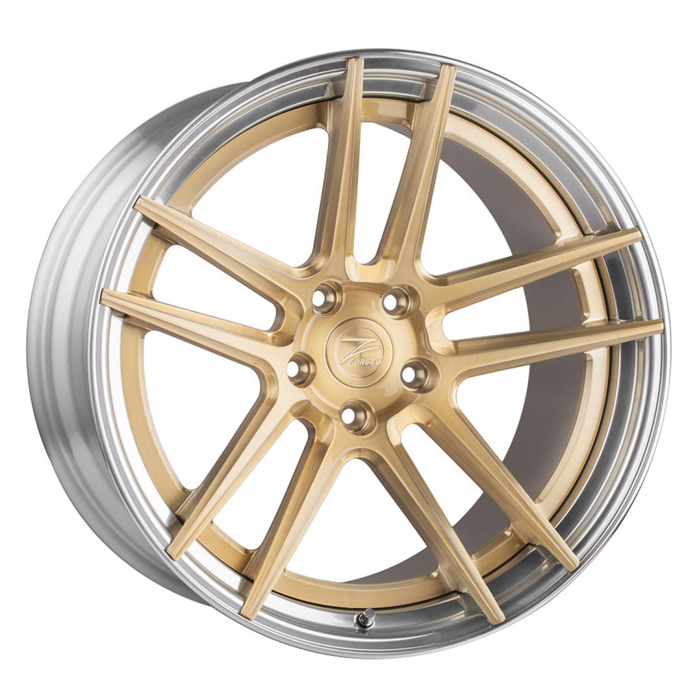 ZP.FORGED 2 Super Deep Concave | ROYAL GOLD / Polished Lip