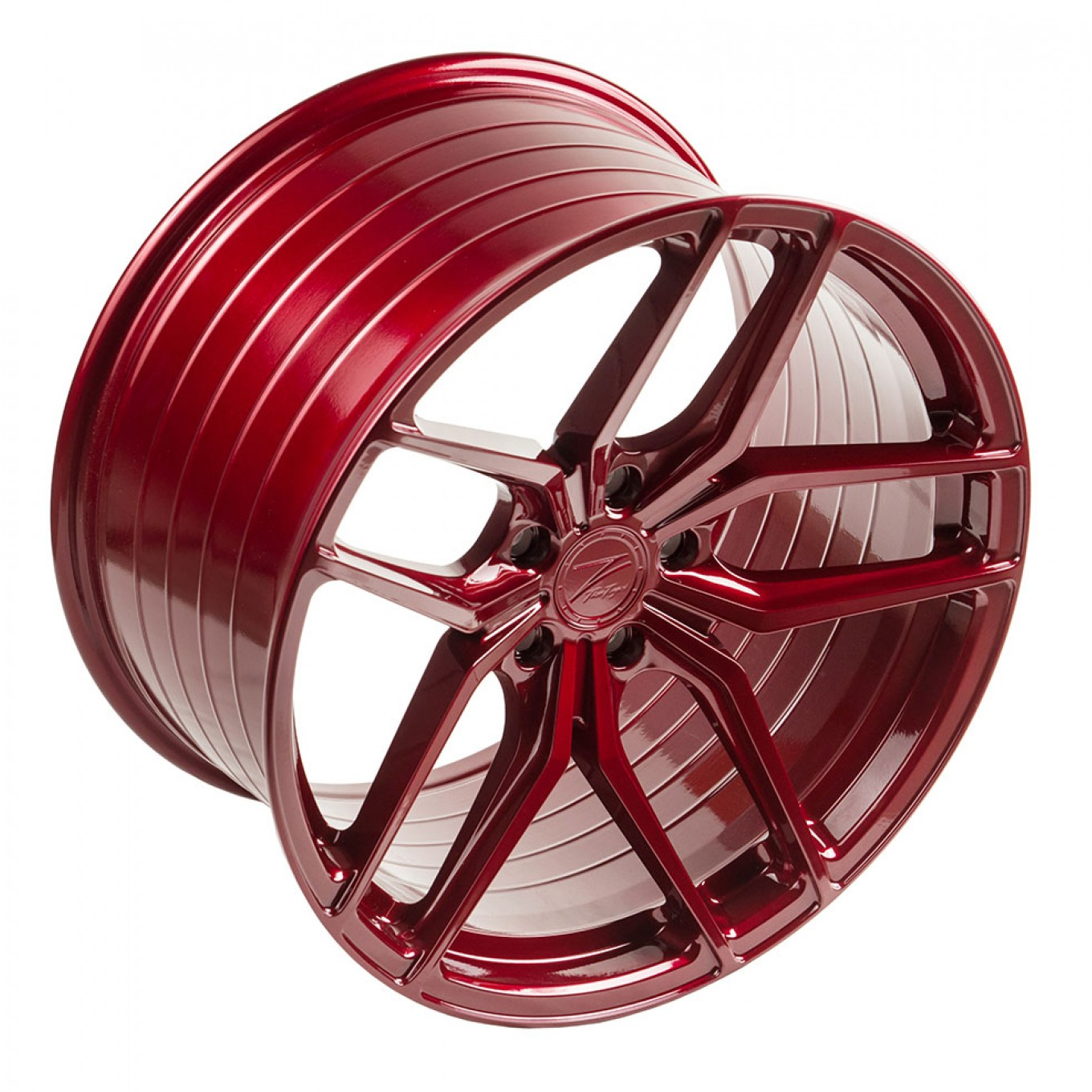 ZP2.1 Deep Concave FlowForged | Blood Red