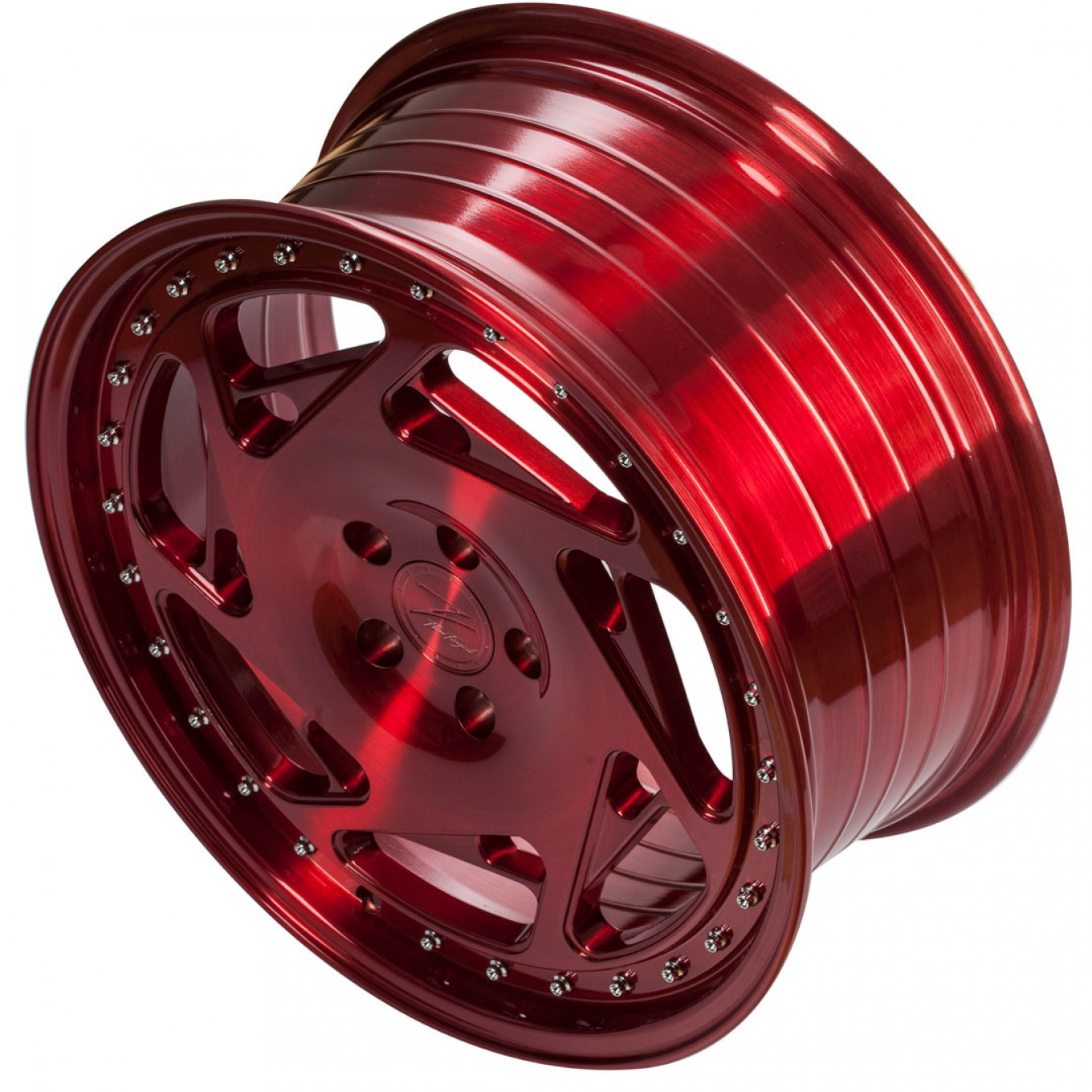 ZP5.1 Deep Concave | Brushed Candy Red