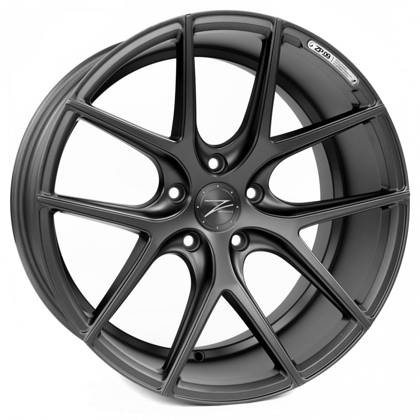ZP.09 Deep Concave | Matte Black Custom Finish Pulverbeschichtung