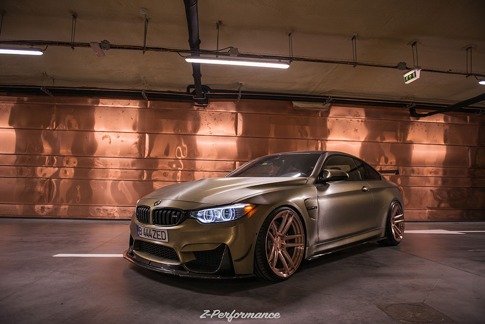 Zp Forged 2 Super Deep Concave Rose Gold