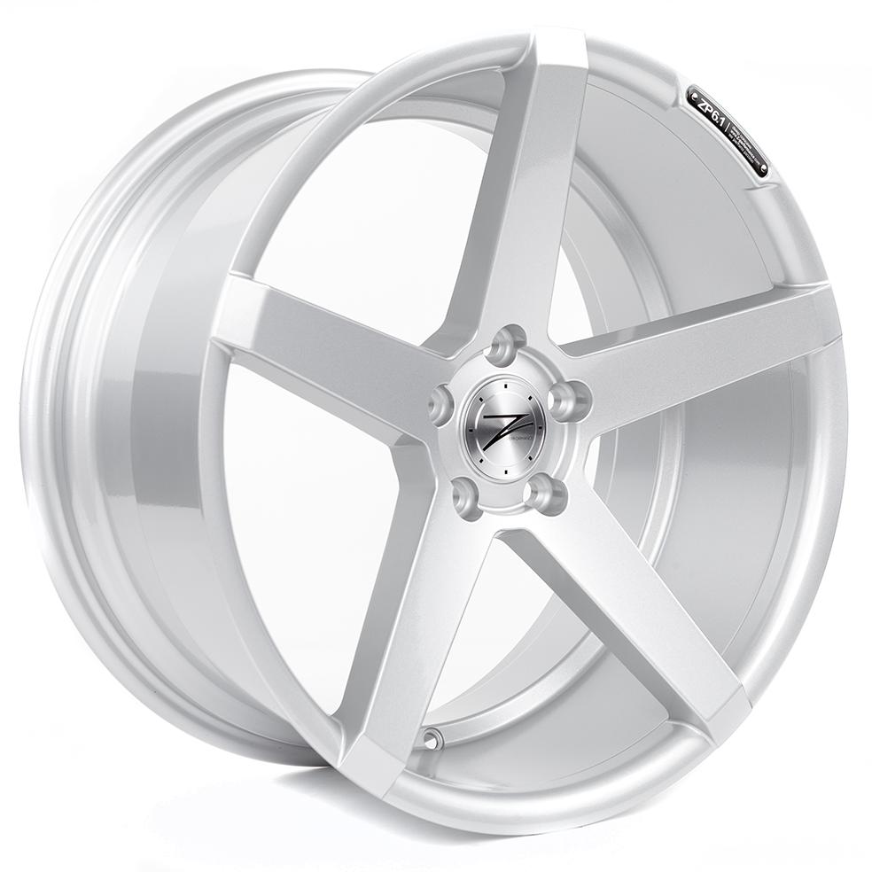 Z-PERFORMANCE ZP6.1 Deep Concave  hliníkové disky 9x20 5x112 ET35 Sparkling Silver